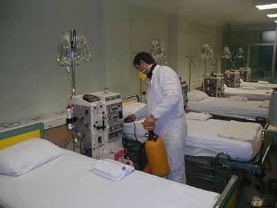 ilaçlama Hastane